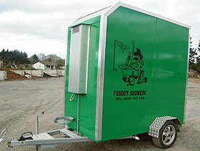 watch portable trailer combo with laundry trailers shower station restroom